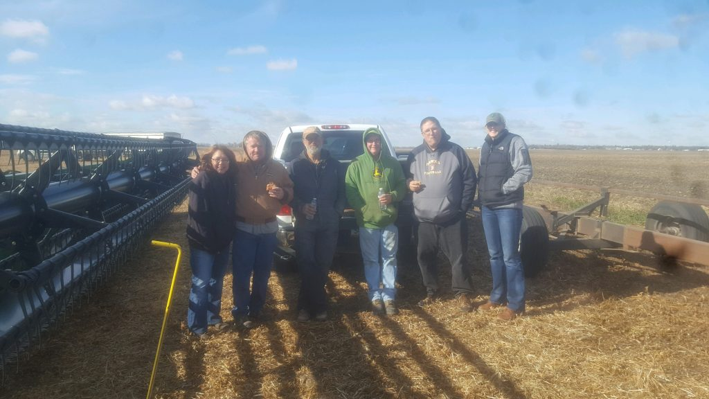 Community 'Trinity Growers' come together to harvest and give back.
